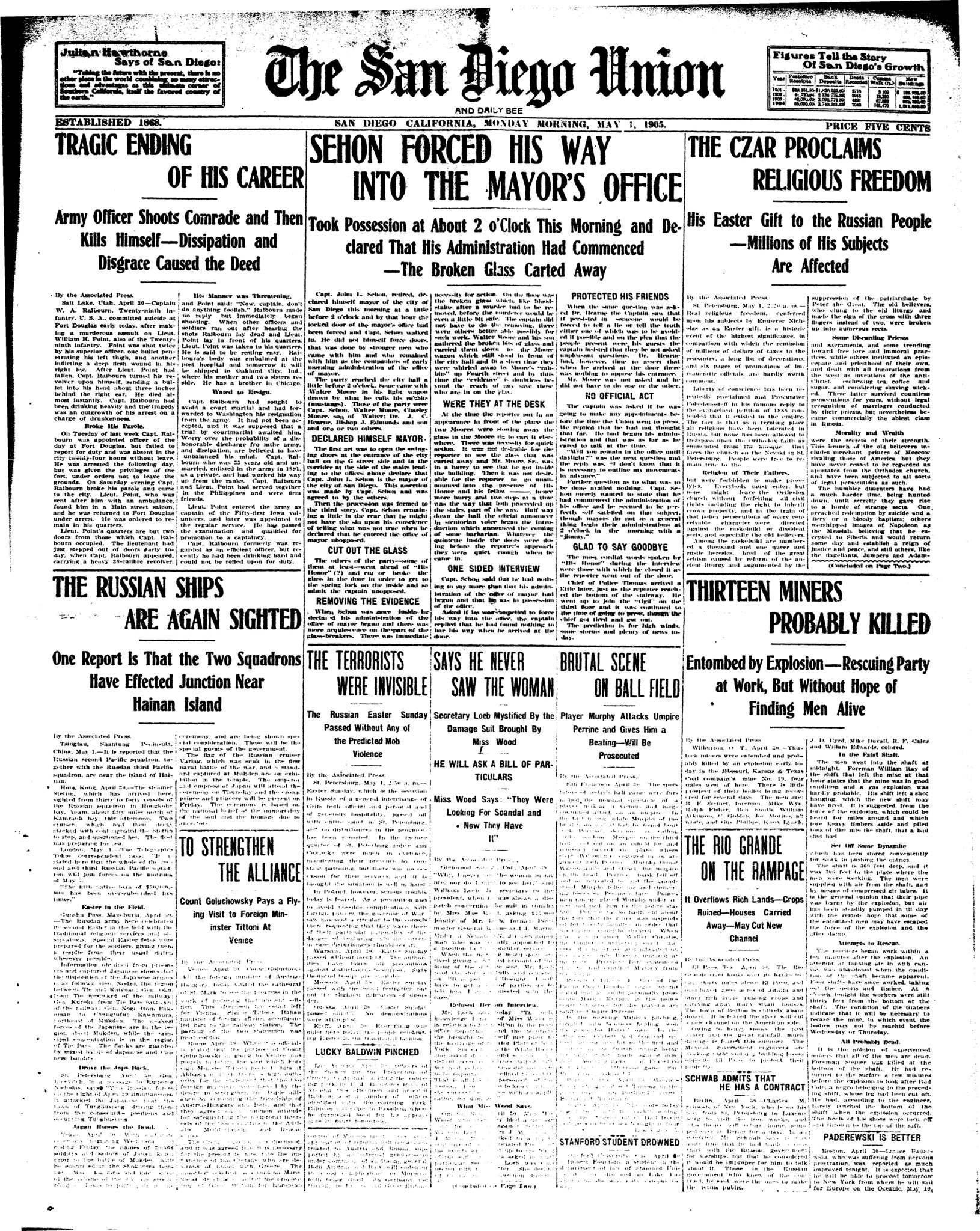 April 1, 1905