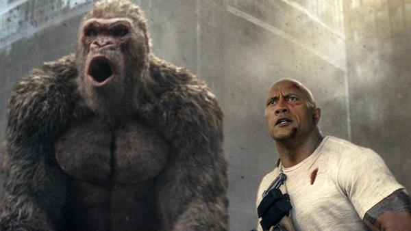 'Rampage' dominates China's box office for second week