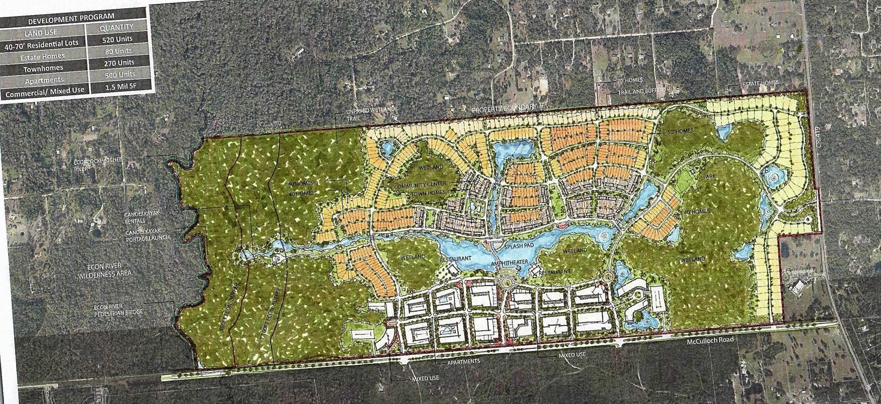 Developer bucks seminole rural protections with 669 acre for Rural development florida