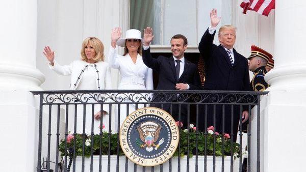 Melania Trump's stylist Hervé Pierre talks Macrons' state dinner, crashing at the White House