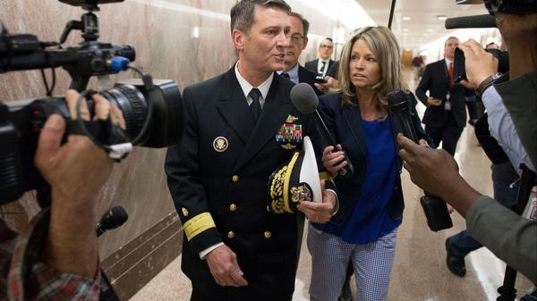 Trump suggests his Veterans Affairs nominee may want to withdraw as allegations swirl