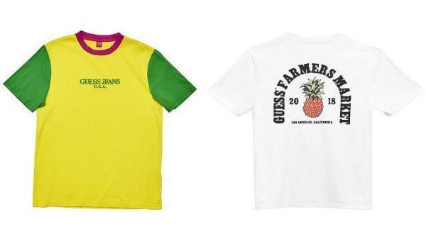 Guess uses its archive for inspiration for '90s-themed Farmers Market capsule collection
