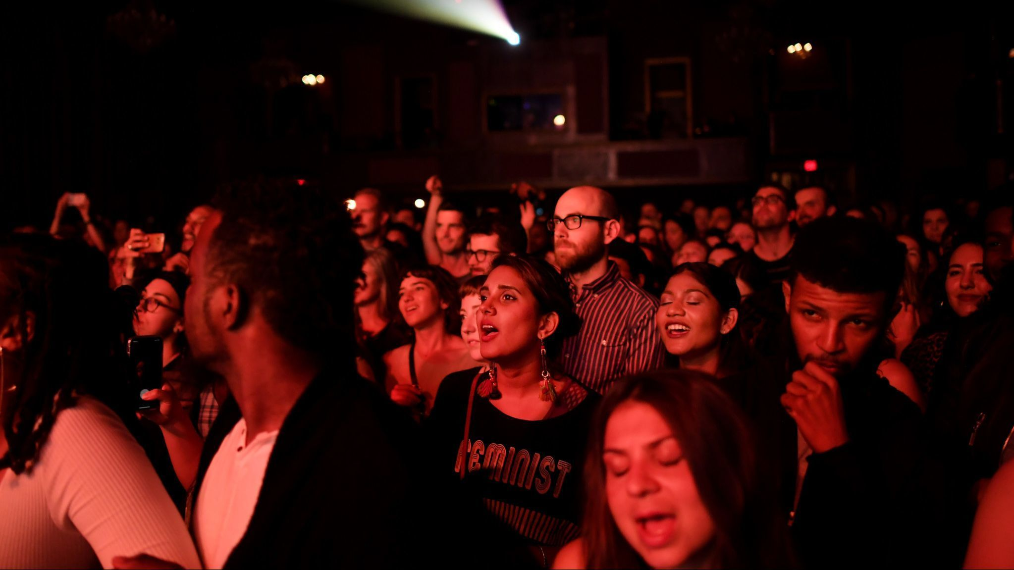 Fans enjoy a concert at the Fillmore in San Francisco.