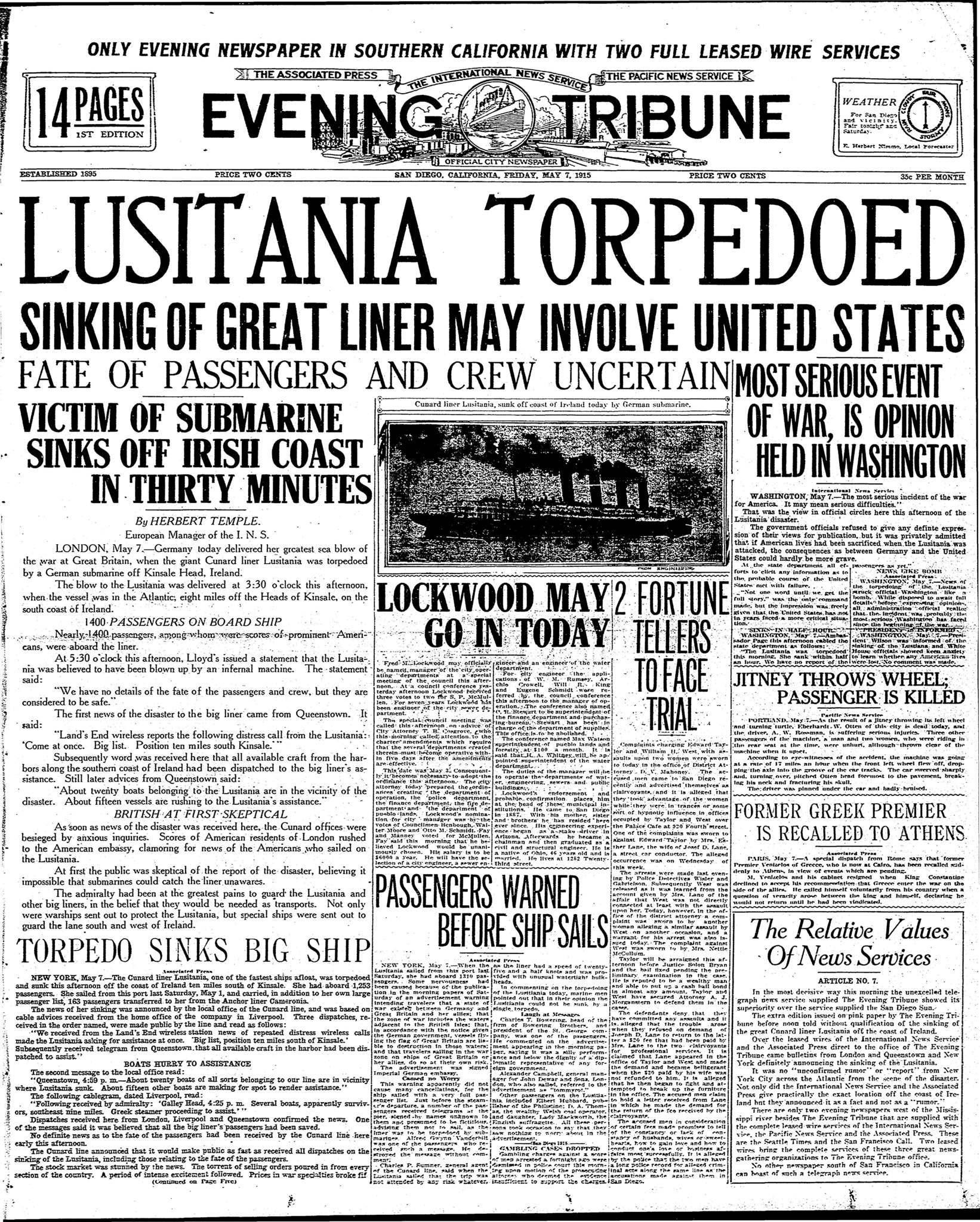 May 7, 1915