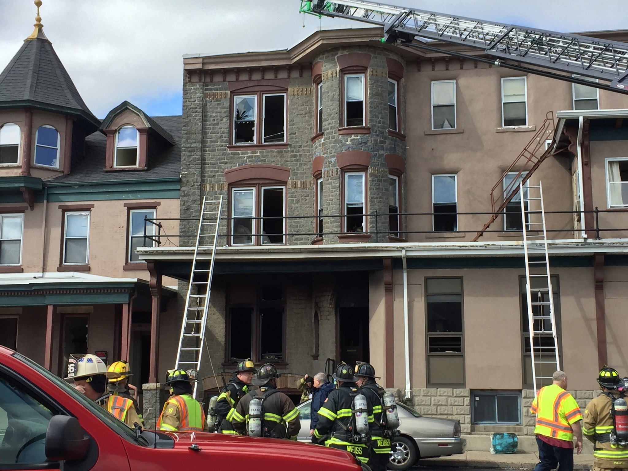 Fire At Bush House Hotel In Quakertown Ruled Undetermined The Morning Call