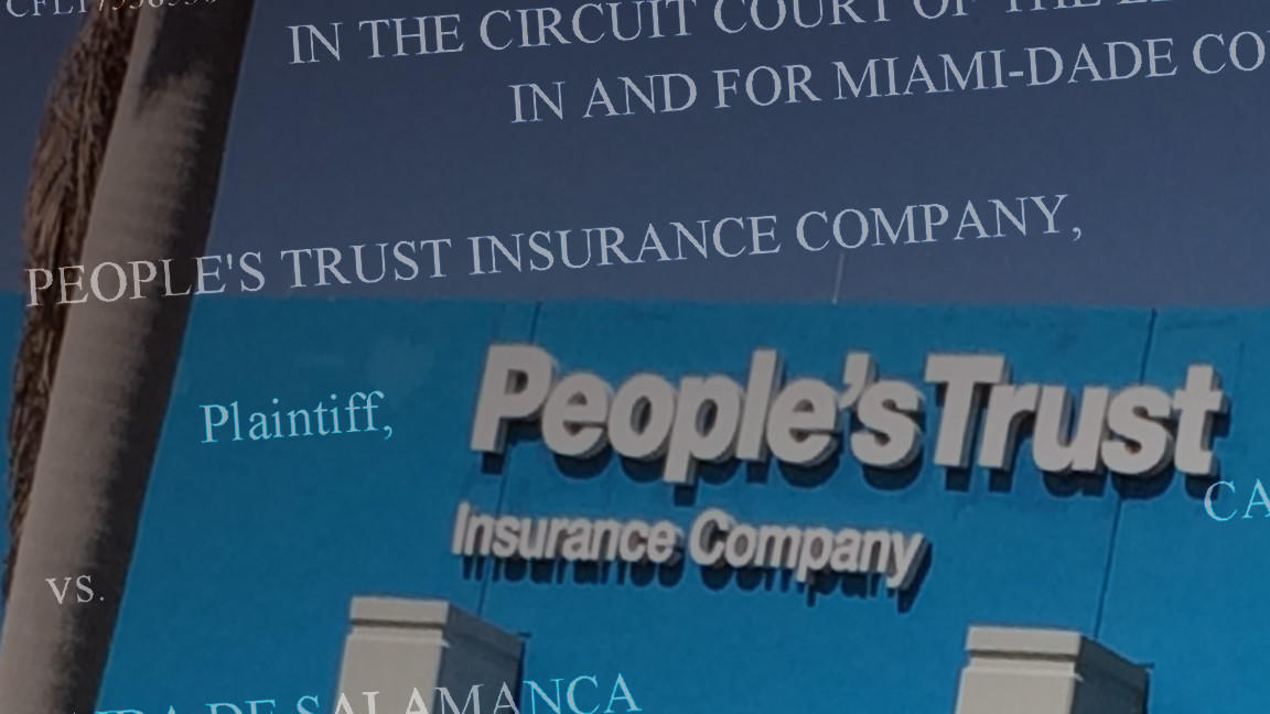 Why does People\'s Trust Insurance keep suing its own policyholders ...