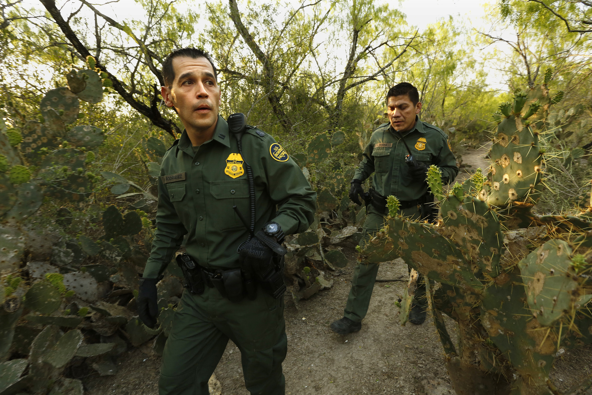Border Patrol agents in Texas