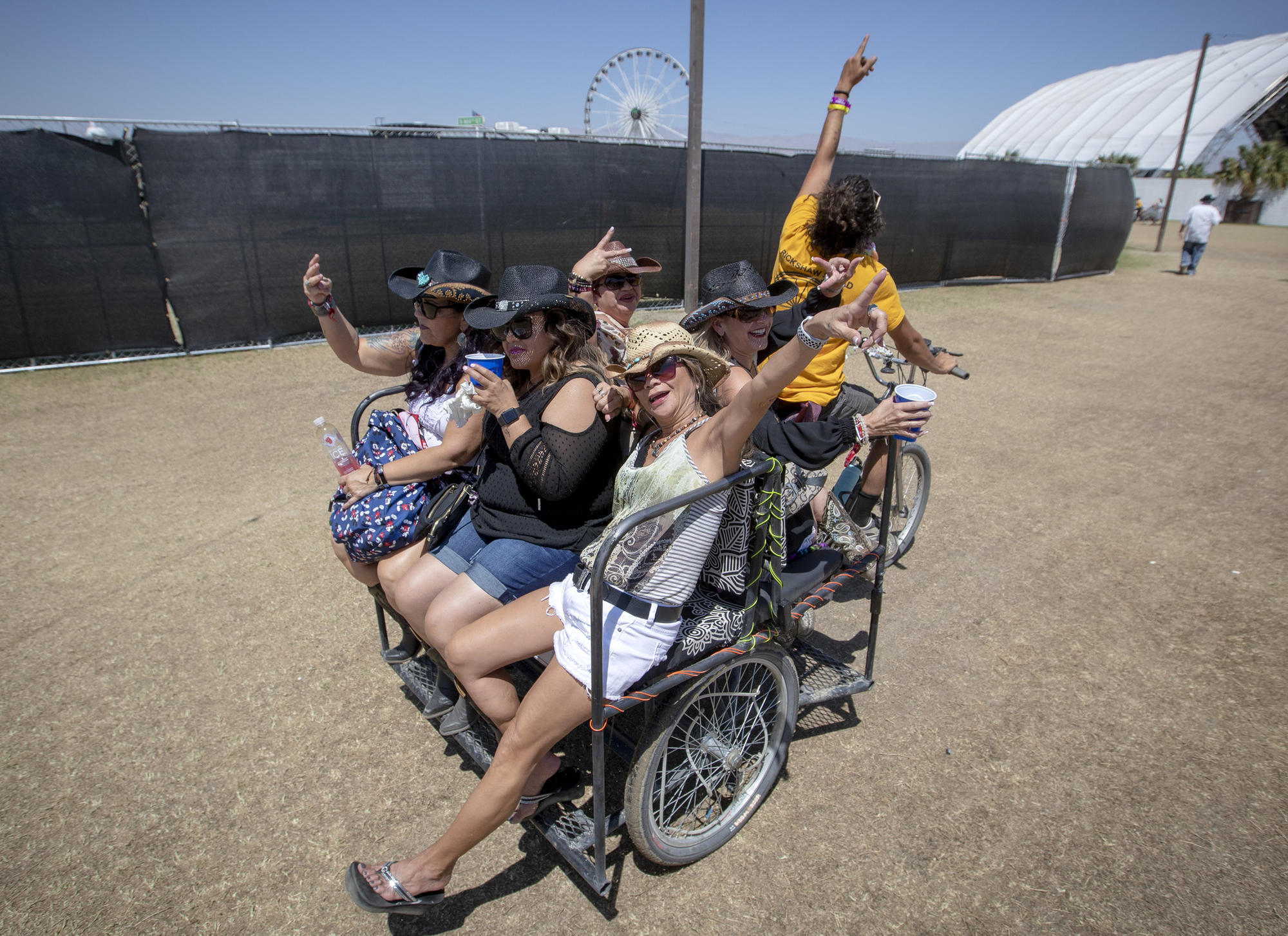 The country music-loving citizens of Stagecoach 2018