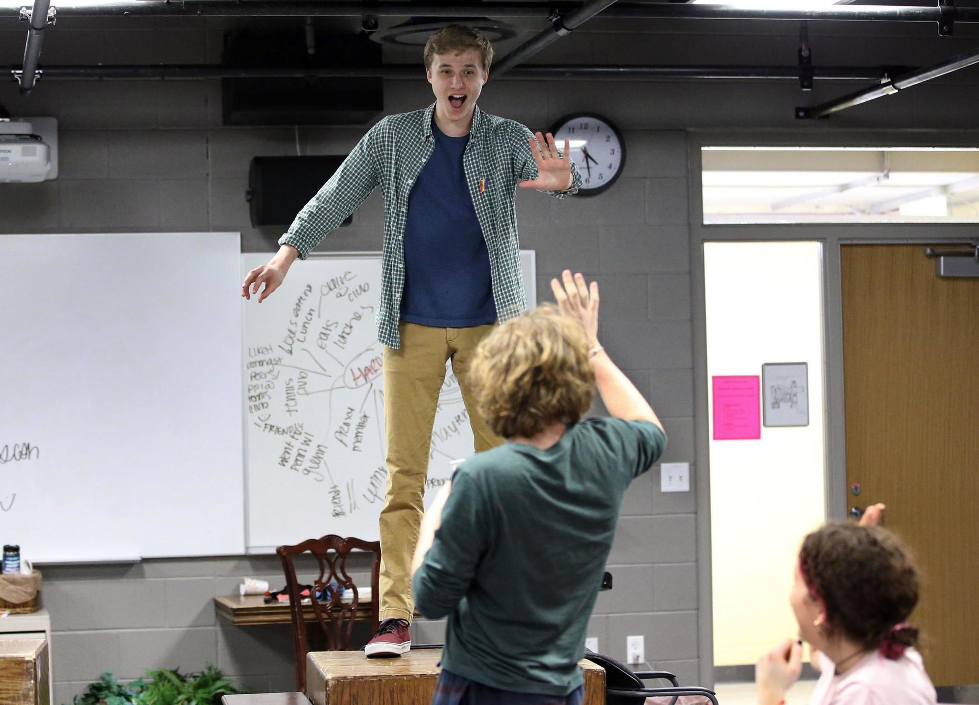 Len Trier trier students take on neil simon in staging of rumors