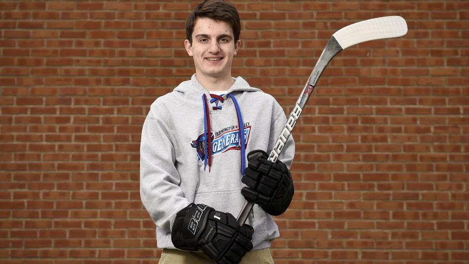 CT H.S.: Player Of The Year, Tim Arena, Farmington Valley