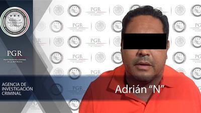 Fiscalía mexicana captura a operador financiero del narcotráfico
