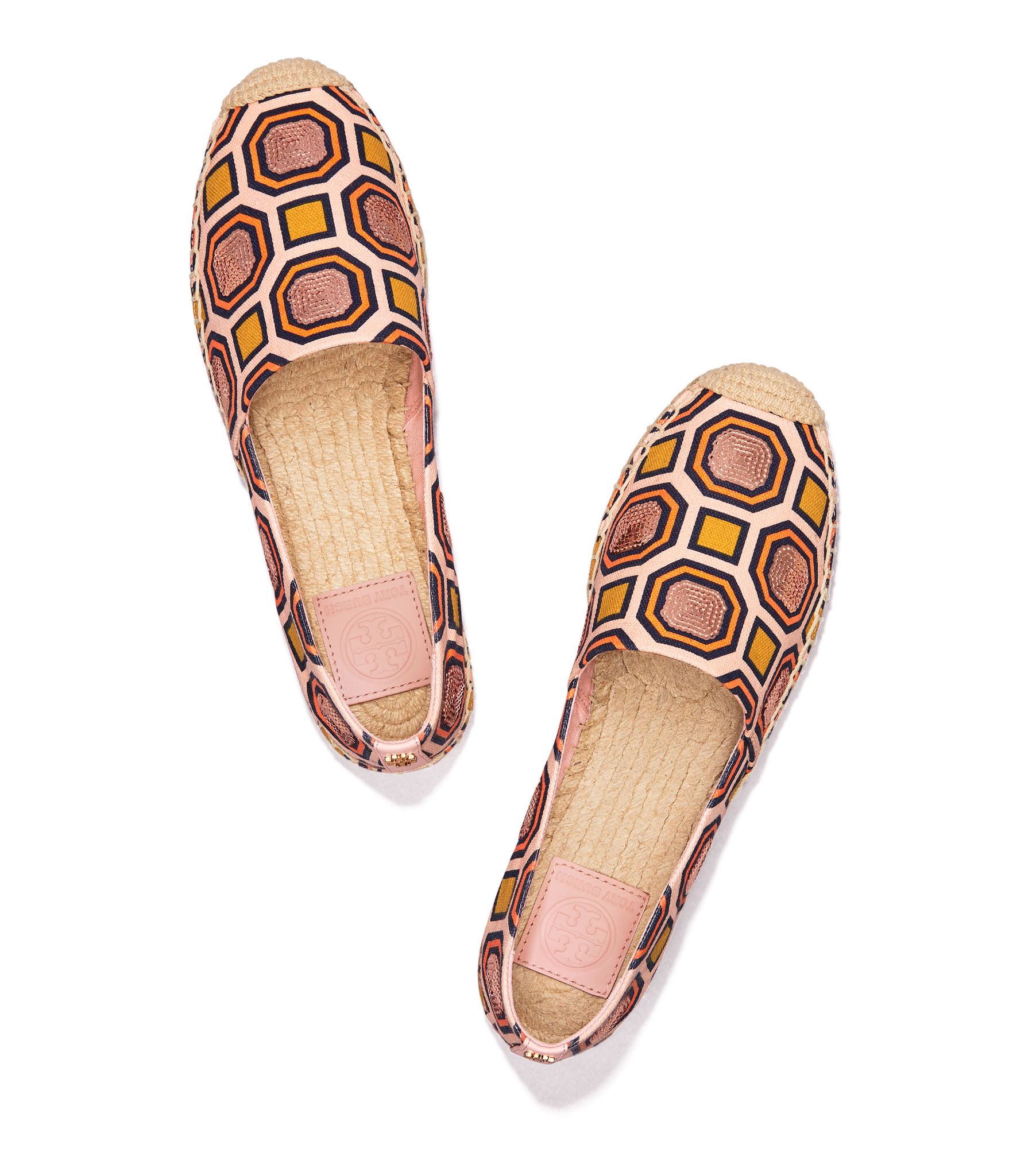 Tory Burch's Cecily Embellished Espadrilles.