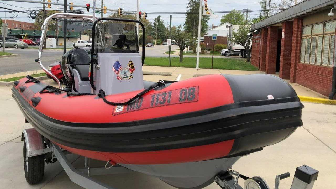Second annapolis fire department boat going into service for Klakring motor co annapolis