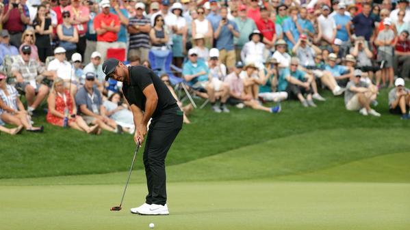 Golf: Jason Day seizes control at Quail Hollow