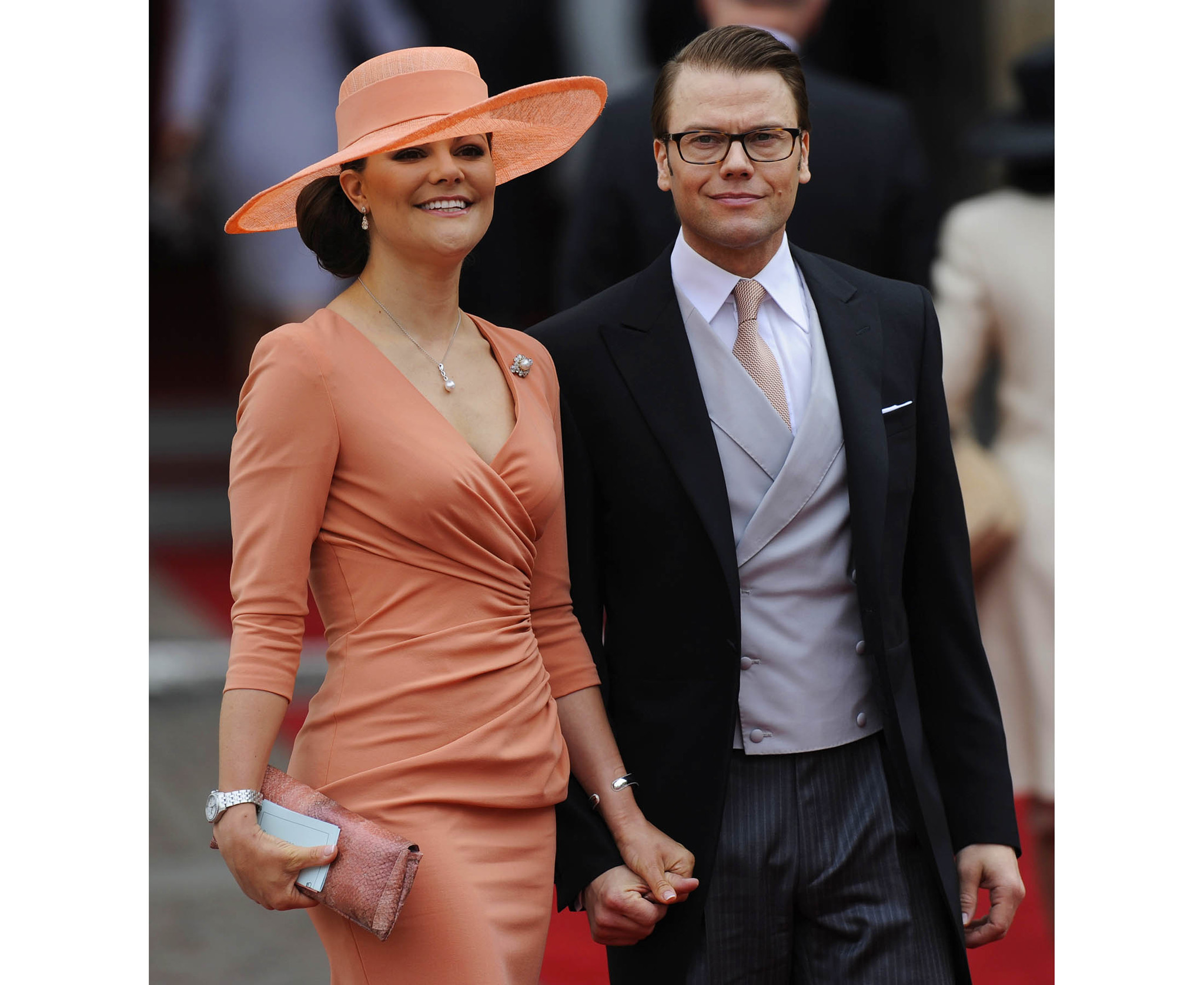 Sweden's Crown Princess Victoria and Prince Daniel