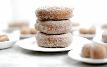 Cinnamon-sugar doughnuts