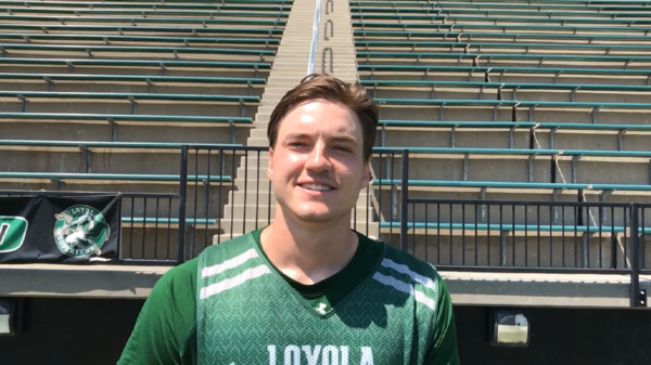 Five questions with Loyola Maryland men's lacrosse player Jared Mintzlaff