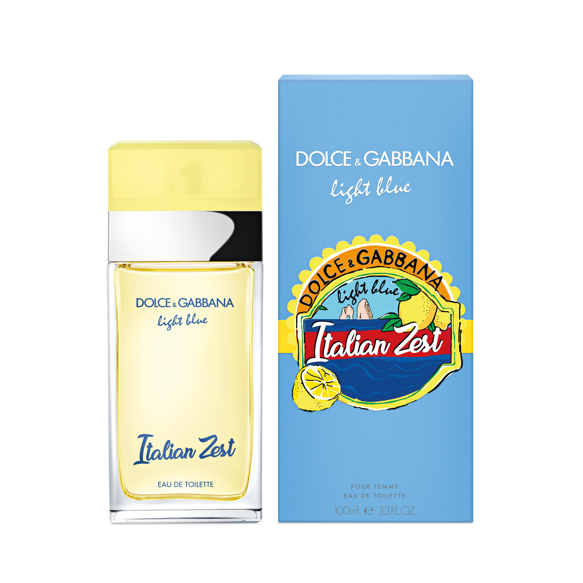 Dolce & Gabbana's Light Blue Italian Zest fragrance.