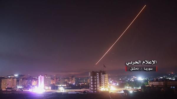 In most serious military clash in decades, Israel hits Iranian targets in Syria