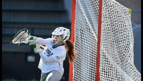 Loyola Maryland rolls past Fairfield, 18-2, in NCAA women's lacrosse