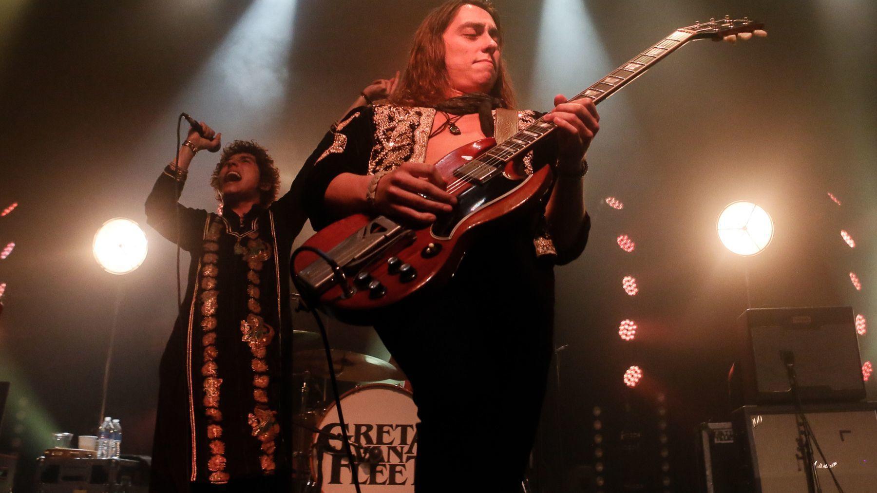 Michigan Rockers: Greta Van Fleet had a sellout crowd roaring from the  get-go. (Photo/Jamie Geysbeek)