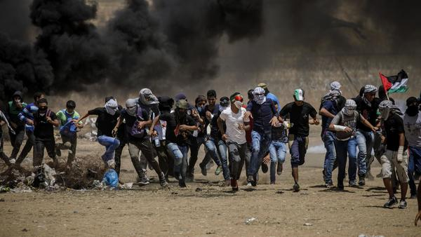 Today: Anger in the Gaza Strip