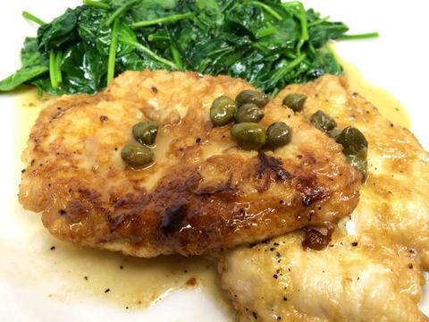 Chicken Limon atMattone Restaurant + Bar,9 E 31st St, La Grange Park, IL 60526.