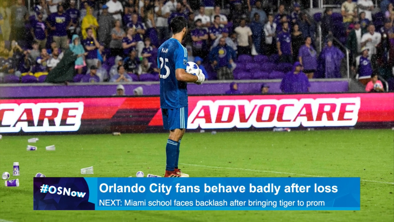 Orlando City Fans Throw Trash Onto Field At Atlanta United Sentinel