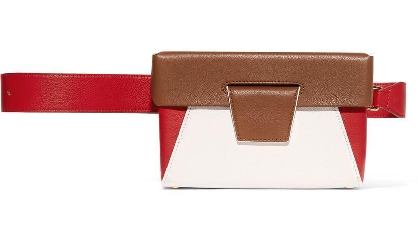 Yuzefi's Lola color-blocked bag.