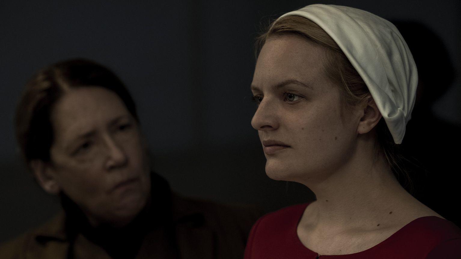 "Ann Dowd in ""The Handmaid's Tale"""