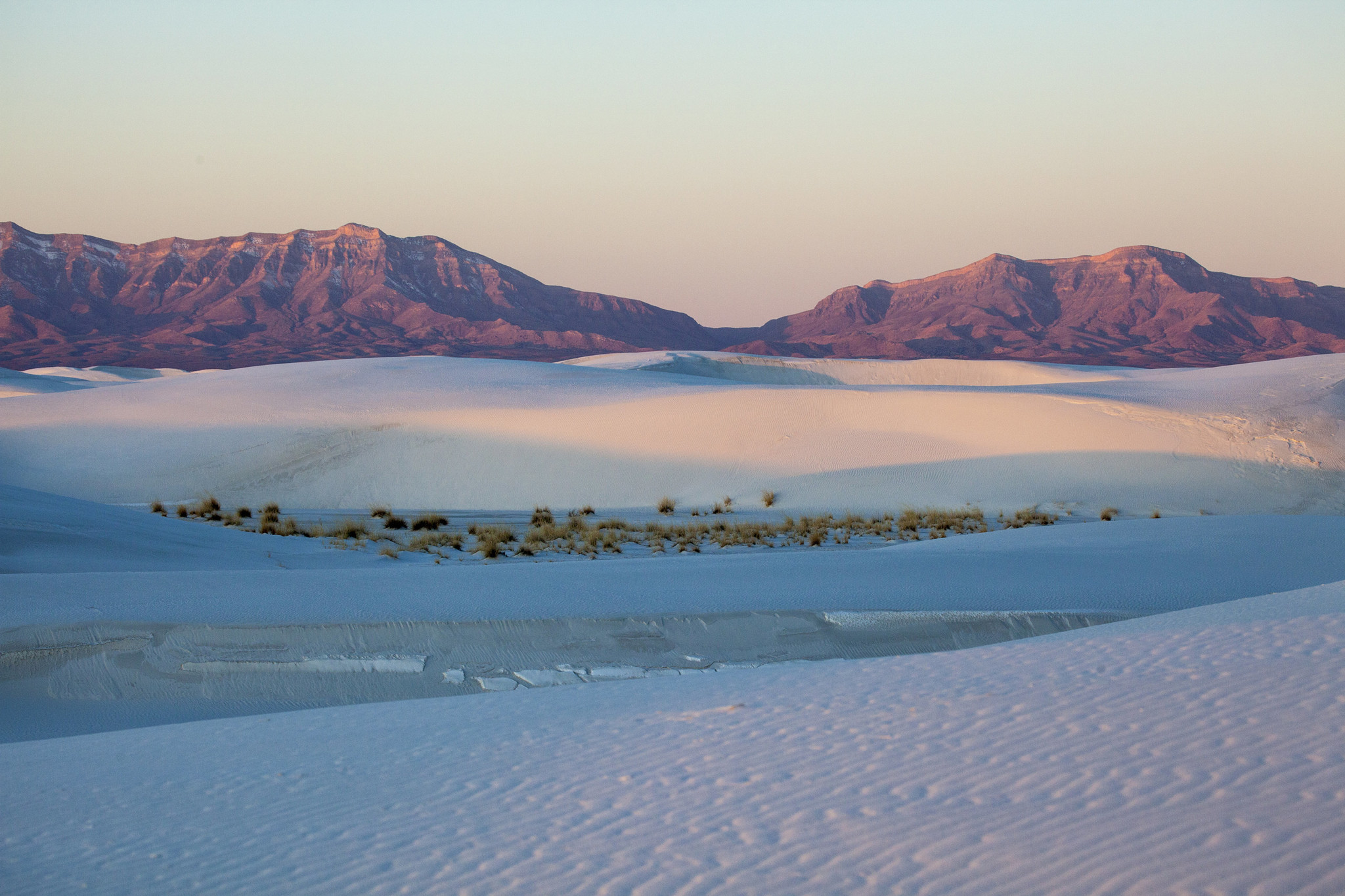 Dunes of White Sands National Monument