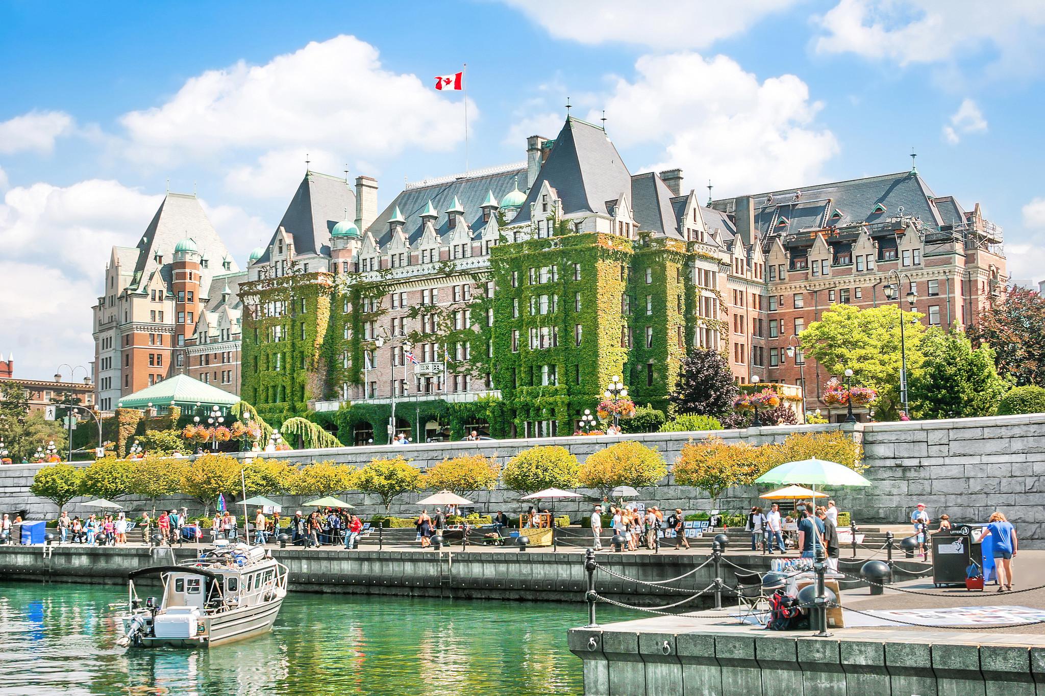 Inner Harbour of Victoria, BC, Canada