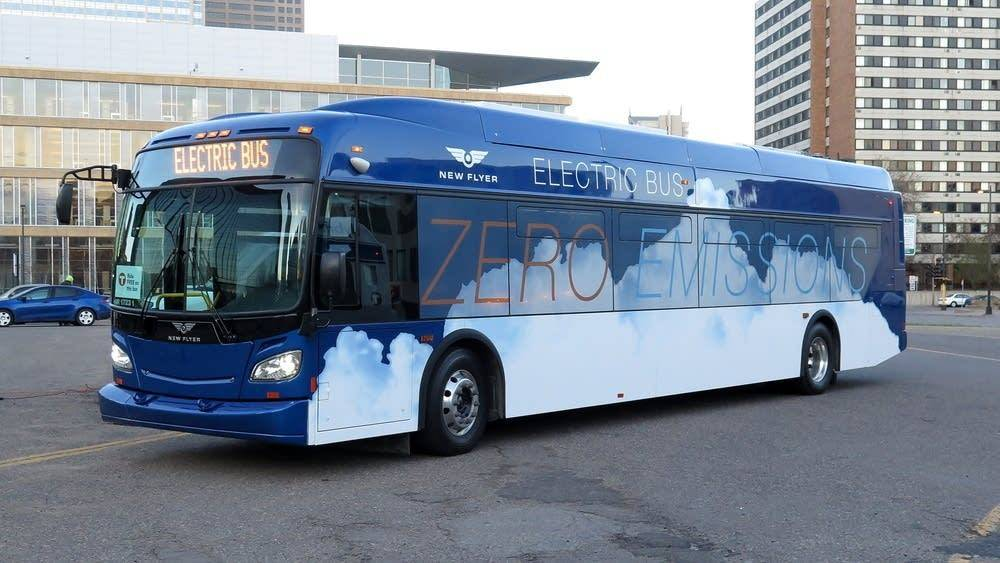The MTS has purchased six New Flyer electric buses. Will one end up on Route 30?