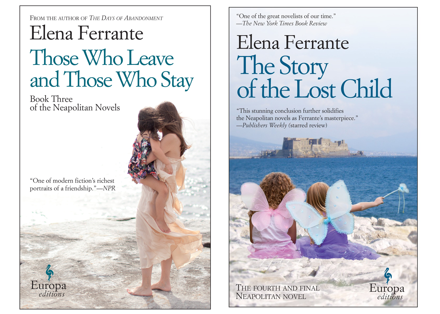The final two books in Elena Ferrante's Neapolitan series