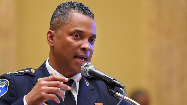 Baltimore Police Commissioner De Sousa resigns amid federal tax charges