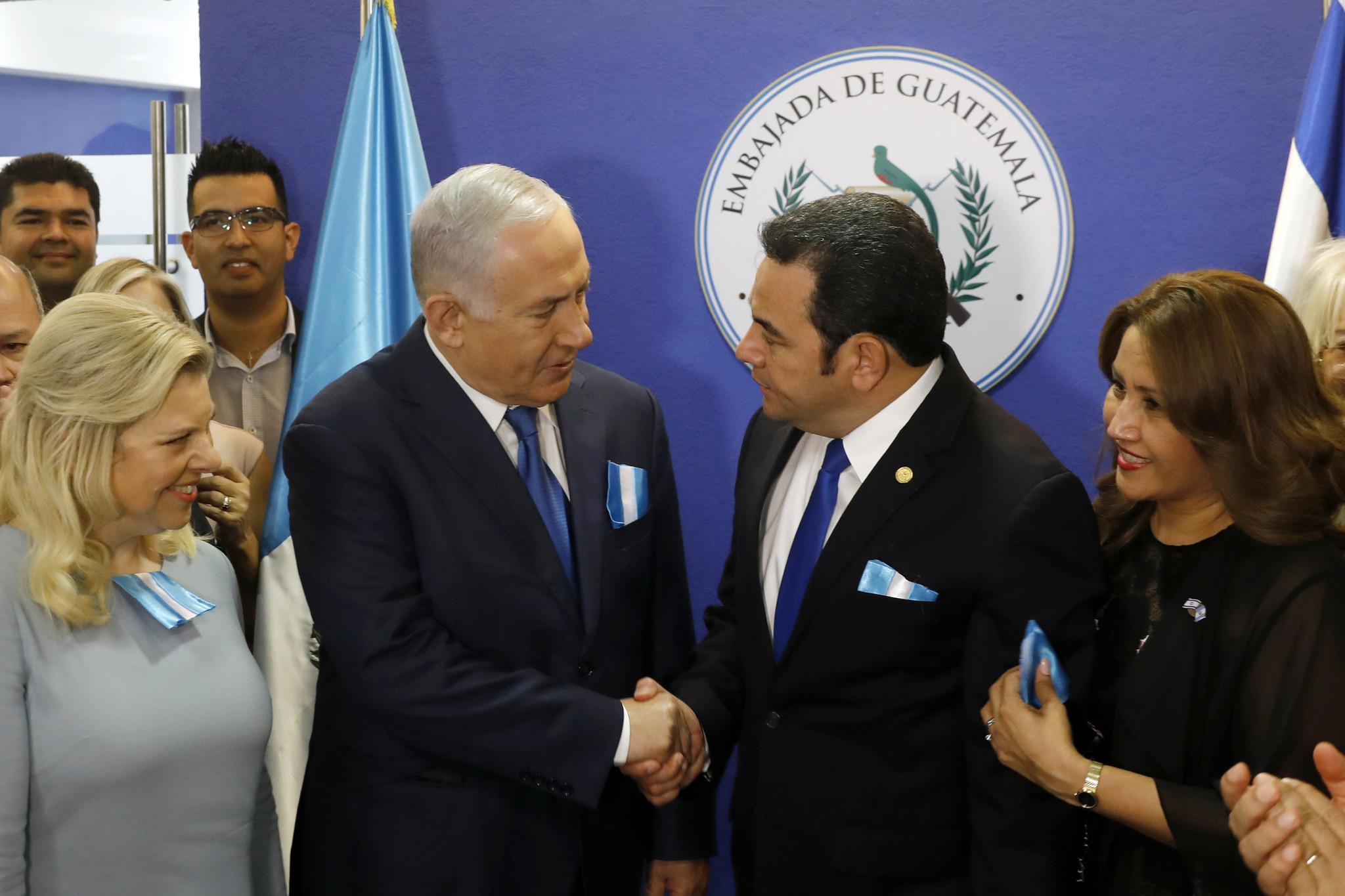 Following U.S. lead, Guatemala moves embassy to Jerusalem