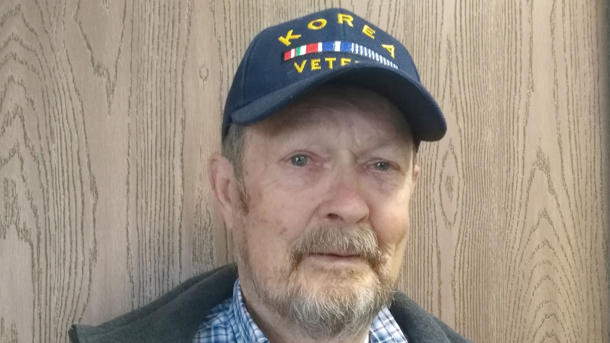 Wayne Jorde is an Army veteran who appreciates the opportunity to travel with other veterans on an Honor Flight Network trip to Washington, D.C.