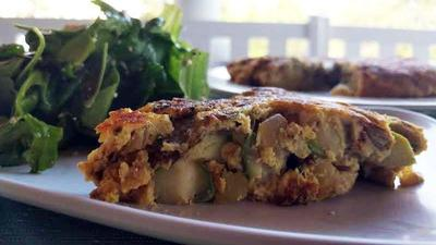 Take On Tortilla Espanola Incorporates Local Asparagus