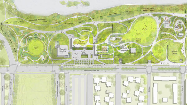 Chicago is full of vacant lots. Why build the Obama center on public parkland?