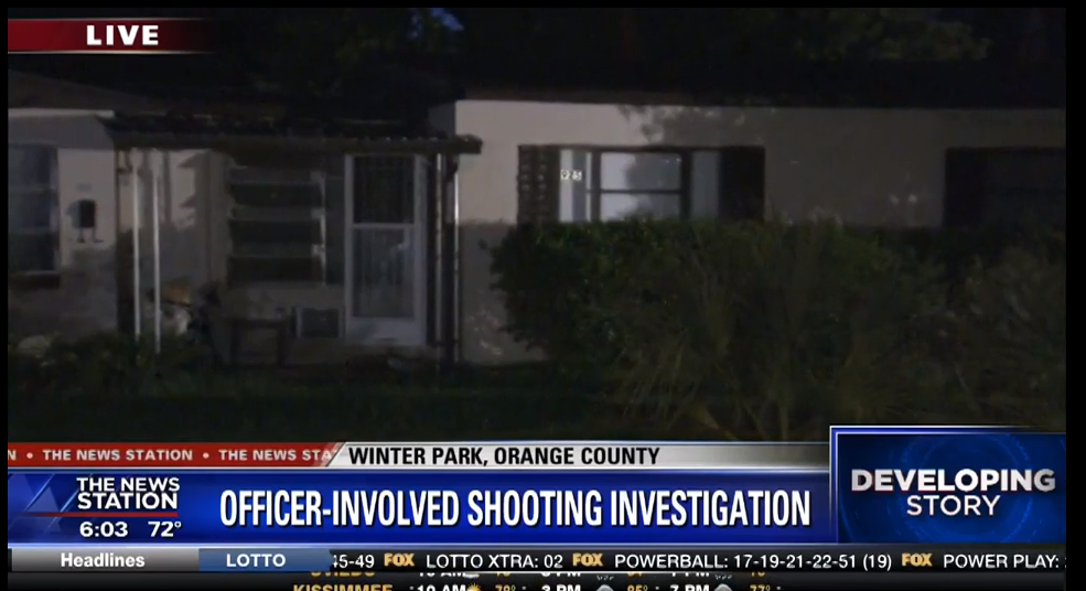 Man Shot By Winter Park Police Had 39 Ar Style Rifle 39 Authorities Said Orlando Sentinel