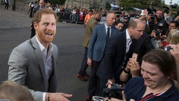 Britain's Prince Harry and American Meghan Markle set to exchange vows