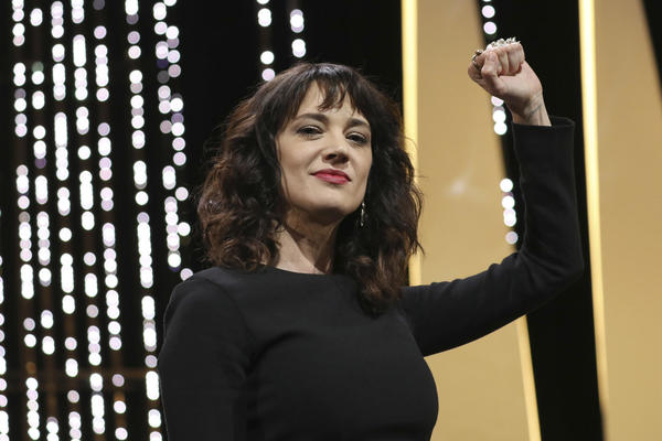 Asia Argento tears into Harvey Weinstein at Cannes, calls the festival his 'hunting ground'