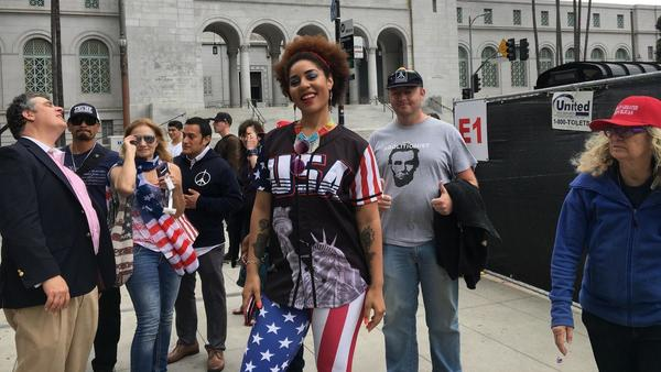 Joy Villa to perform at March for Our Rights rally at L.A. City Hall to protest 'sanctuary' cities