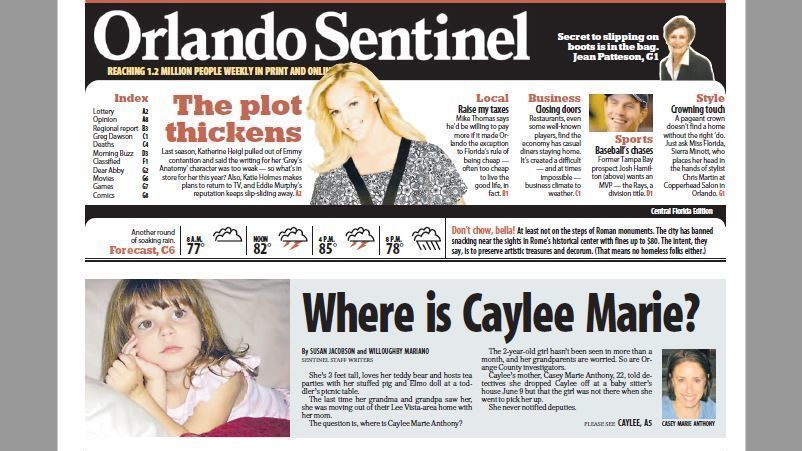 Where is Caylee Marie?