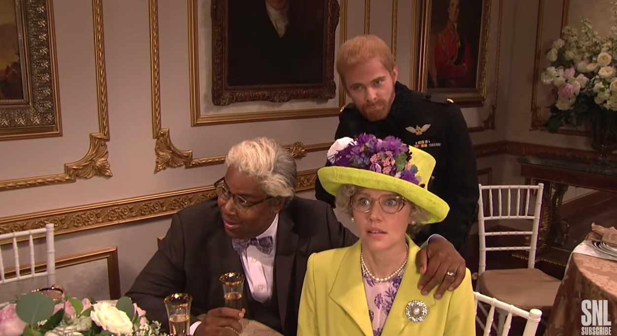 Saturday Night Live Parodies The Royal Wedding Reception Chicago
