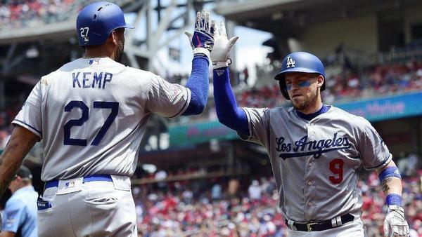 Dodgers beat Nationals 7-2 for fourth consecutive victory