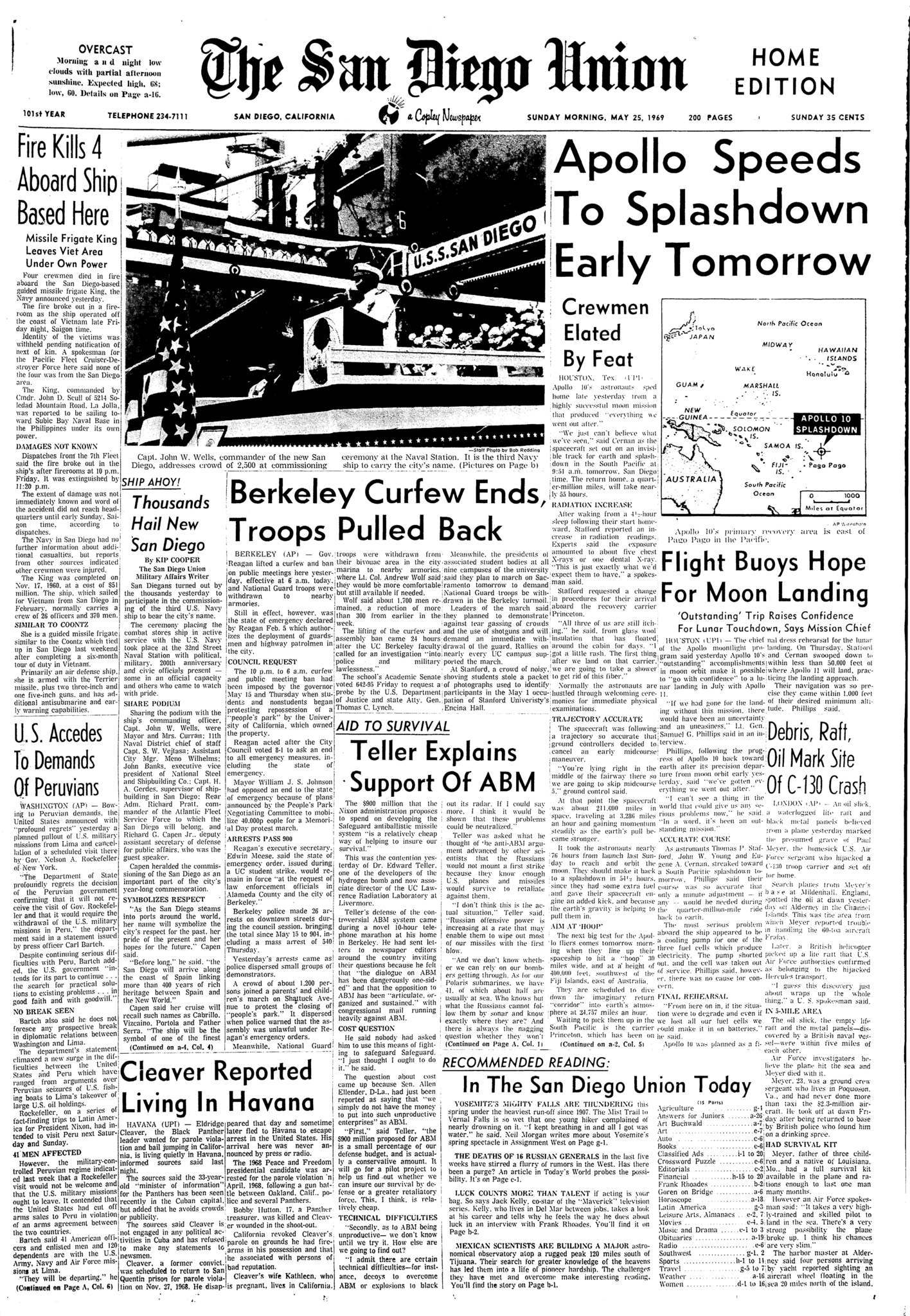 May 25, 1969
