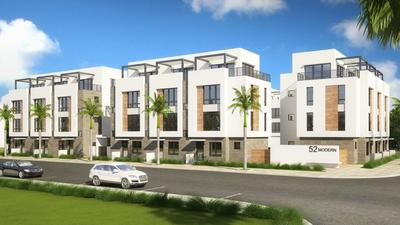 Delray townhouse proposal calls for four-story homes