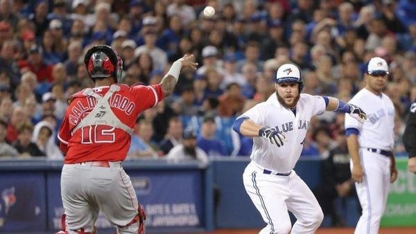 Angels can't recover from Toronto's early five-run burst