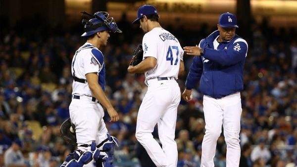 Dodgers send struggling reliever J.T. Chargois to minors
